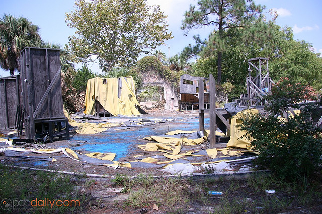 Miracle Strip Amusement Park Abandoned Florida