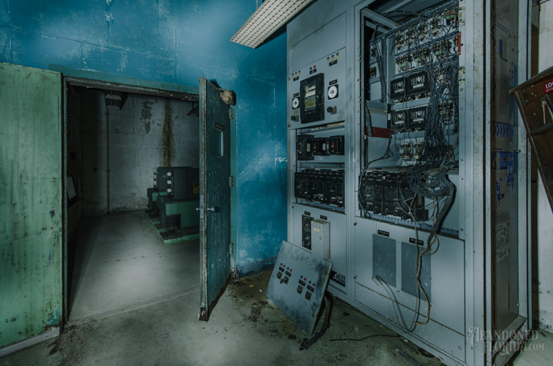 AT amp T Switching Equipment Nuclear Bomb Shelter Abandoned