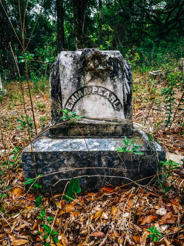 Oriole Cemetery Abandoned Florida